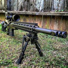 AB Arms Mod-X Modular Stock System for the Remington 700 SPS Short Action Rifle. Primary Arms FFP Scope, Harris Bipod and Timney 517 Trigger. How sweet it is! Military Weapons, Weapons Guns, Guns And Ammo, Tactical Rifles, Firearms, Shotguns, Sniper Rifles, Armas Wallpaper, Rifle Stock