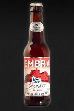 EMBRA CLASSIC AMBER BEER - Excellent beer. I first had this at a restaurant in Grassmarket.