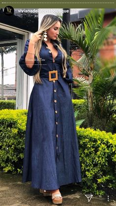 Boho Outfits, Classy Outfits, Fashion Outfits, Glam Dresses, Sexy Dresses, Nice Dresses, Fashion Pants, Look Fashion, Long African Skirt