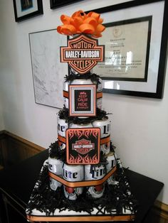 23 Ideas for Harley Davidson Birthday Decorations . Kara S Party Ideas Harley Davidson Birthday Party Harley Davidson Fatboy, Harley Davidson Custom, Harley Davidson Birthday, Harley Davidson Tattoos, Harley Davidson Gifts, Harley Davidson Motorcycles, Hd Motorcycles, Motorcycle Birthday Parties, Motorcycle Party