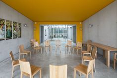 Ronchamp, France, architect Renzo Piano