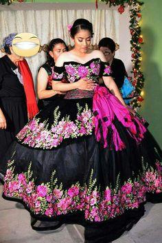 9ab6b969574 Floral Charro Quinceanera Dress by Ragazza Fashion MV15-115 in 2019 ...