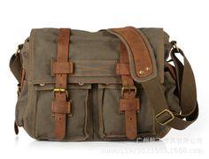 HOT Canvas crossbody bag men,I AM LEGEND Will Smith military army vintage Canvas messenger bags laptop canvas satchel men HF2138