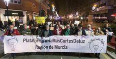 Protestas y apagones en toda España contra la pobreza energética