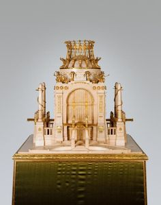 Otto WAGNER Model for the Hall of Honour of the Academy of Fine Arts on the Schmelz 1898