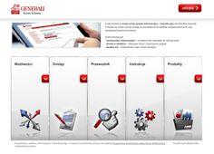 Mini Site for Generali. HTML5. #web_design