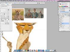 gepard tutorial Famous Animators, Step By Step Painting, Painting Steps, Ps Tutorials, Digital Texture, Illustration Techniques, Environment Design, Art Direction, Digital Illustration