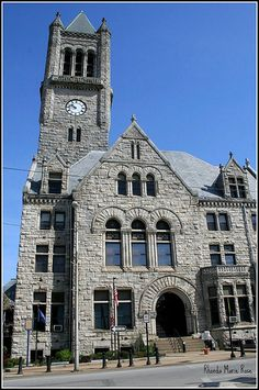 The fayette county courthouse in uniontown Pa. still in service        uniontown courthouse