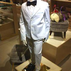 Gucci summer boys suit 2012 Metro Style, Boys Suits, Summer Boy, Dapper, Kid Stuff, Chef Jackets, Gucci, Blazer, Fashion