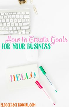 How to Set Goals For Business