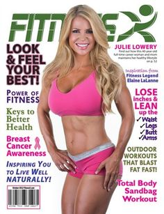 FitnessX Magazine 2012:  FitnessX Magazine for October 2012, $25.00 from MagCloud