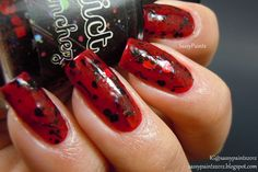 Sassy Paints: Love Triangle from Love Story Collection by Polish Addict- Review & Swatches
