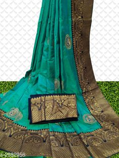 Checkout this latest Sarees Product Name: *Attractive Sana Silk Women's Sarees* Saree Fabric: Sana Silk Blouse Fabric: Cotton Blend Pattern: Embroidered Blouse Pattern: Same as Saree Multipack: Single Sizes:  Free Size Country of Origin: India Easy Returns Available In Case Of Any Issue   Catalog Rating: ★4.2 (13633)  Catalog Name: Sia Zari Embroidered Sana Sana Silk Sarees with Lace border CatalogID_406987 C74-SC1004 Code: 325-2982956-7431