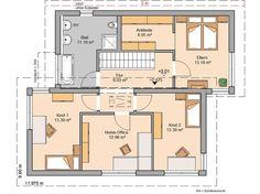 Futura Pult von Kern-Haus | Entgegengesetzte Pultdächer