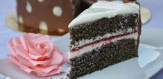 Poppy Cake, Hungarian Recipes, Other Recipes, Cake Cookies, Vanilla Cake, Tart, Cheesecake, Food And Drink, Gluten