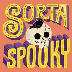 Sorta Spooky on Behance by Mary Kate McDevitt