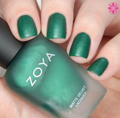 Zoya Winter/Holiday 2015 Matte Velvet Collection Swatches, Review & Giveaway | Cosmetic Sanctuary - Honor