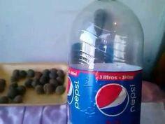 Como fazer Horta de garrafa pet . - YouTube