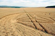 Crop Circle at Andechs Abbey, Bayern. Bavaria. Reported 29th July. 2012