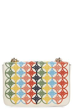 Tory Burch 'Robinson' Embroidered Shoulder Bag available at #Nordstrom