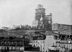 le Sacré Coeur en construction, 1899
