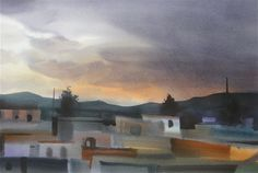 Hoffmann Watercolors: Watercolor in Oaxaca