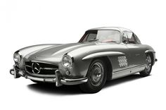 Clark Gable bought this 1955 Mercedes-Benz 300SL Gullwing Coupe for $7,295. On Saturday, it sold for $2.04 million.