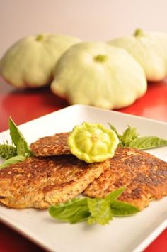 Gluten-free Potato-free Pattypan Squash Latke Fritter Recipe