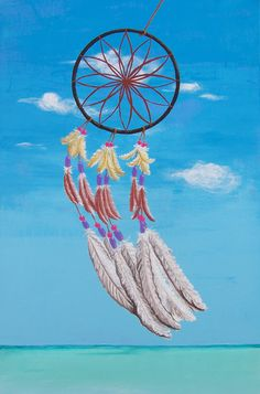 painting PEACE OF MIND * #malba #mir #klidnamysl #calmmind #mirvdusi #peace #peaceofmind #blue #more #modra #sea  #dreamcatcher #pirka #feathers #originalart #czechart #contemporaryart #ladylu #ladyluart #ladyluartist #painting #akryl #acrylic #platno #canvas #home #obraz #interior #decor #domov #interier #fineart