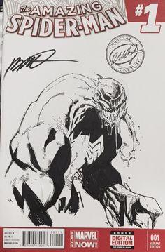 humberto ramos (@humberto_ramos) | Twitter Humberto Ramos, Marvel Comic Books, Marvel Art, Comic Book Characters, Comic Books Art, Marvel Venom, Marvel Villains, Spiderman Art, Amazing Spiderman