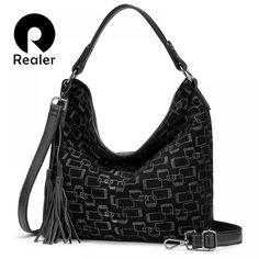 Carteira mulher de couro genuíno bolsa grande luxo bolsa ombro crossbody  Price: 63.50 & FREE Shipping  #hashtag1