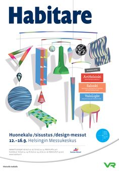 #habitare2015 #design #sisustus #messut #helsinki #messukeskus #habitare15 Helsinki, Convention Centre, Furniture Design, Interior Decorating, Contemporary, Vintage, Vintage Comics, Decor, Interior Design