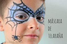 Step by step makeup for children on Halloween | BabyCenter Blog #babycenter #children #halloween #makeup