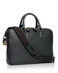 Ralph Lauren Black Label Gents Calfskin Briefcase