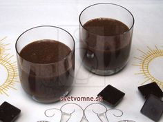 Čokoládový likér Rum, Beverages, Drinks, Kakao, Cooking Recipes, Pudding, Tableware, Foods, Savoury Pies