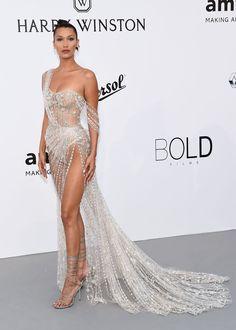 @HadidNews: Bella Hadid at the amfAR Gala 2017. #CannesFilmFestival2017