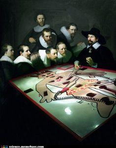 The Modern Anatomy Lesson