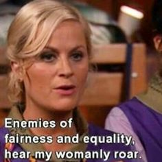 Leslie -- Parks and Recreation.