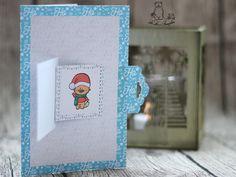 Weihnachtskarten selber basteln #Freebie #DIY #Digistamp #Miezo #Cardstock #Silhouette #Cameo #Portrait #Digipaper #Print_Cut #letter #post