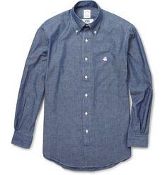 cotton chambray shirt | brooks brothers x junya watanabe
