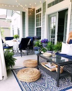 Summer Home Tour - Patio