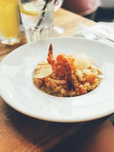 Delicious risotto with gamberi Risotto, Food, Essen, Meals, Yemek, Eten