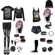 Depending on weather, PTV concert tag by xxmentalydeadxx on Polyvore featuring polyvore, fashion, style, Boohoo, Vans, Converse, Alexander McQueen, Joomi Lim and Misbehave