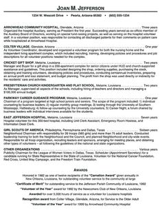 hospital volunteer resume example 106 httptopresumeinfo2014