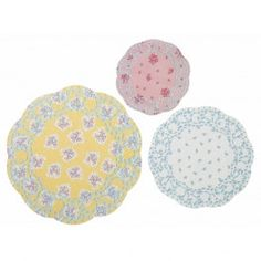 Truly Scrumptious Paper Doilies, Vintage Tea Party, Tea Party Supplies on Etsy, $6.88