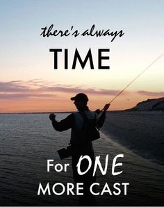 Cast away your troubles, Go fishing!