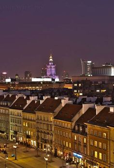 Old town # Warsaw Poland