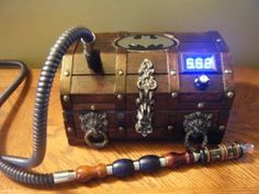 """""""BatBox"""" that JW from Outcast Vaping one of a kind especially made."""