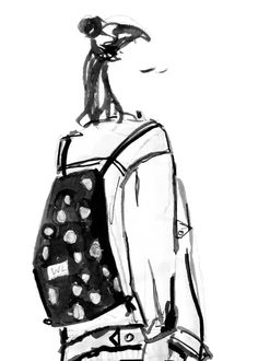 Strandkorb malen  Die Illustratoren - Portfolio - Jessine Hein   fashion sketches ...