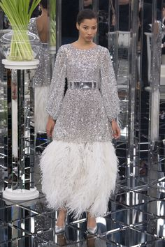 Chanel | Haute Couture - Spring 2017 | Look 56